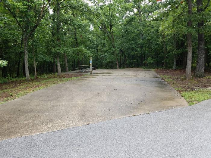 handicap accessible - reservable - non-electricCampsite A1