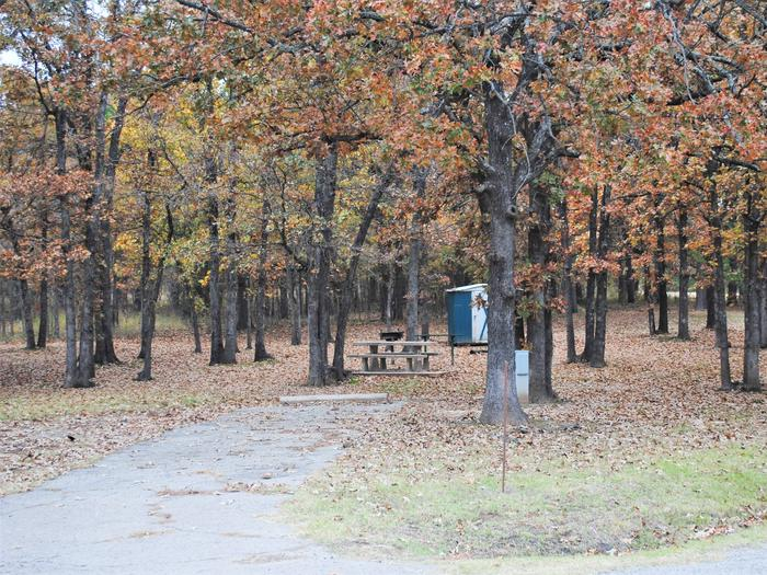 Porum Landing Campsite #6Campsite 06