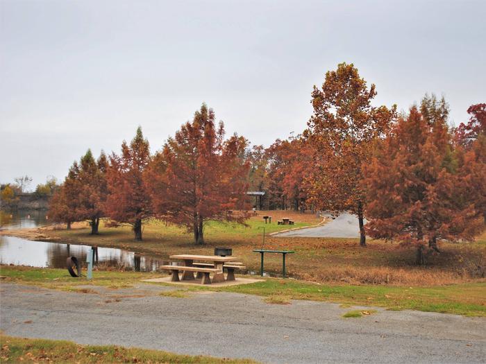 Porum Landing Campsite #8Campsite 08