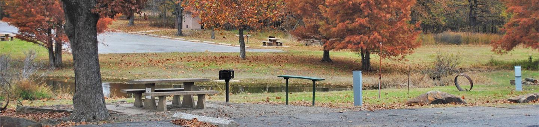Porum Landing Campsite #9Campsite 09