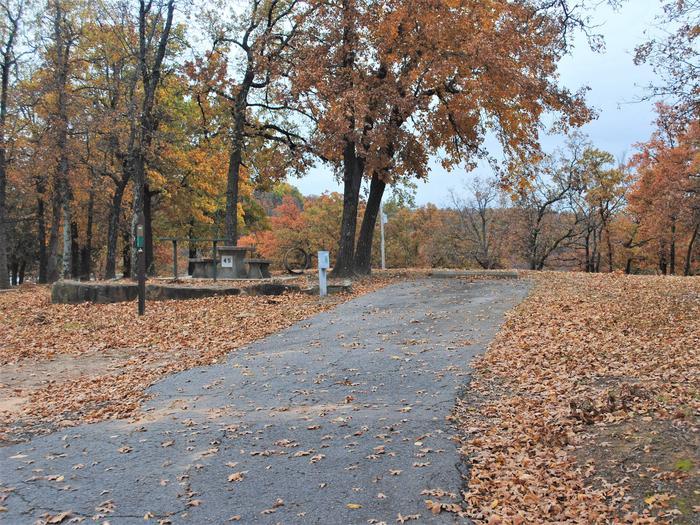 Porum Landing Campsite #45Campsite 45