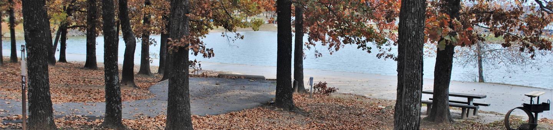 Porum Landing Campsite #47Campsite 47