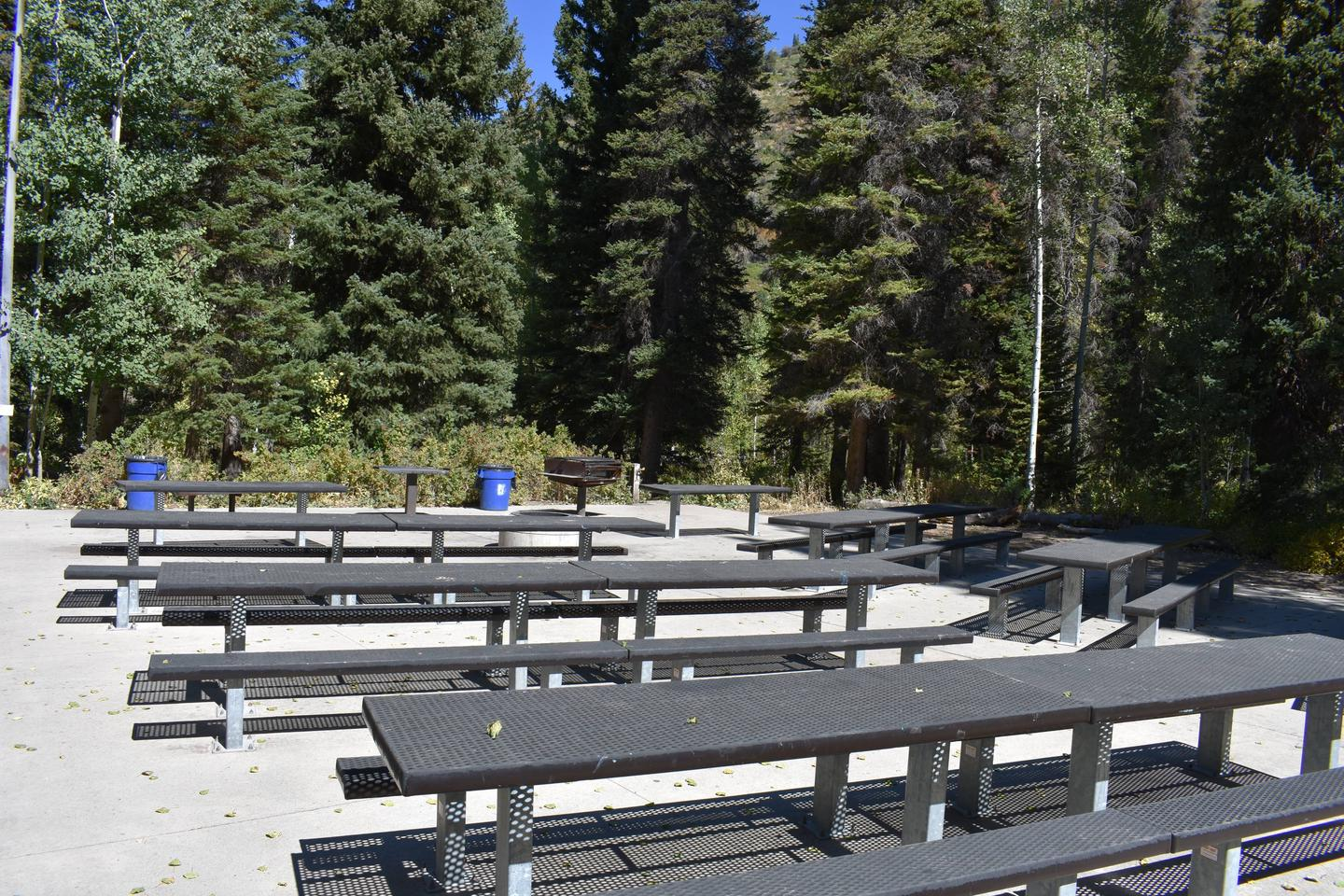 Spruces Campground – Big Cottonwood CanyonGroup Site 1