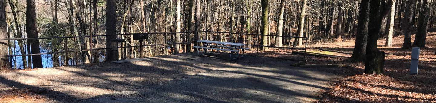RV site with electric hookups Site 4