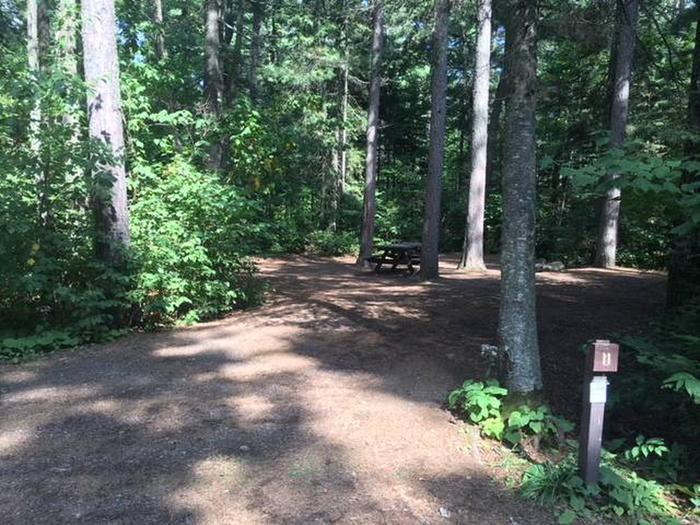 Site 11Sawbill Lake Campground site 11