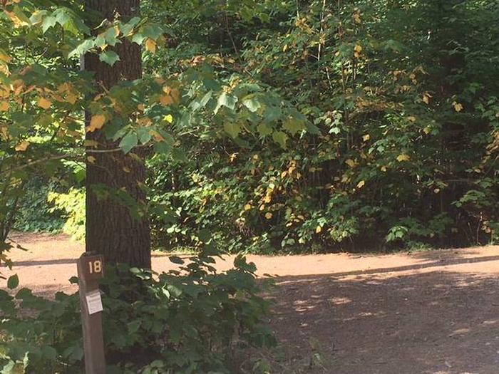 Site 18Sawbill Lake Campground Site 18