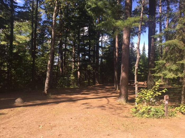 Site 21Sawbill Lake Campground site 21