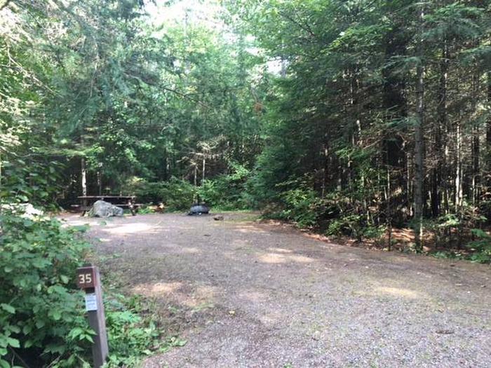 Site 35Sawbill Lake Campground site 35