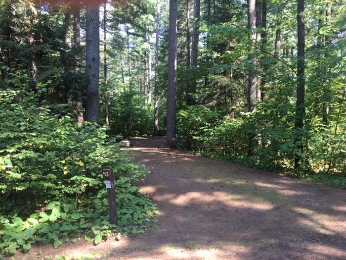 Site 43Sawbill Lake Campground site 43