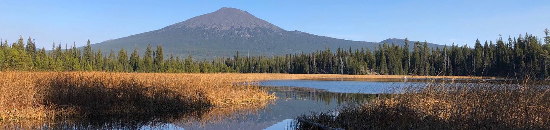 Mt. Bachelor from Hosmer Lake