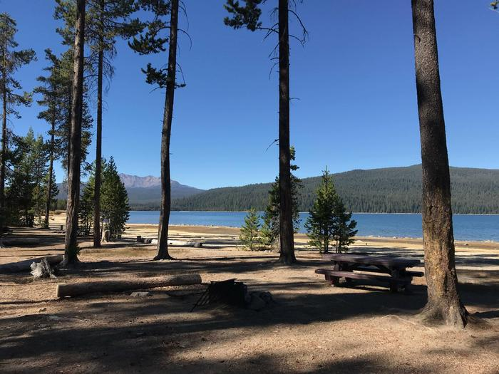 Crescent Lake from Contorta Flat Campground