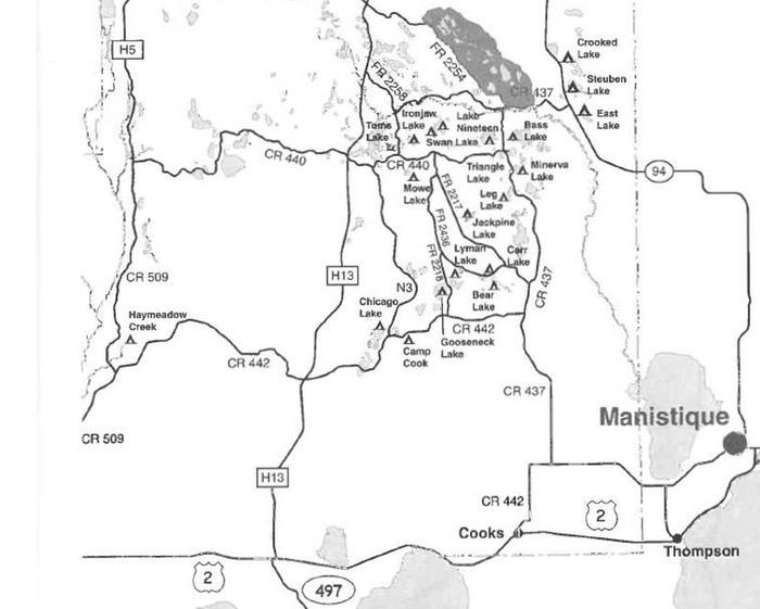 Bass Lake Dispersed Campsite