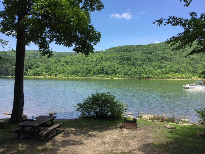 Willow Bay Recreation Area: Site 72 Water View