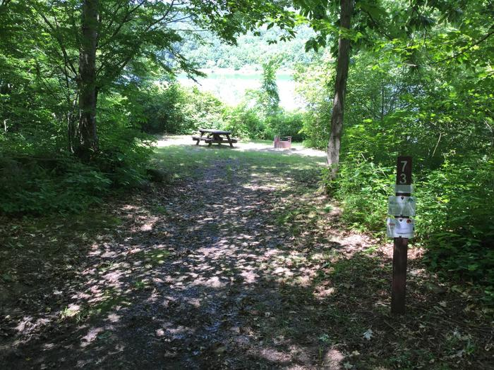 Willow Bay Recreation Area: Site 73