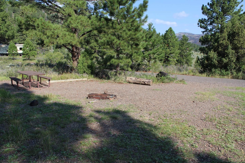 Panguitch Lake North campsite 14Campsite 14