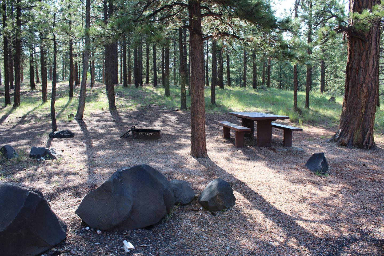 Panguitch Lake North campsite 36campsite 36
