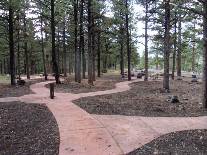 Newly renovated accessible area