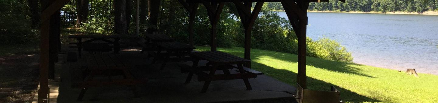 Willow Bay Recreation Area: Picnic Shelter