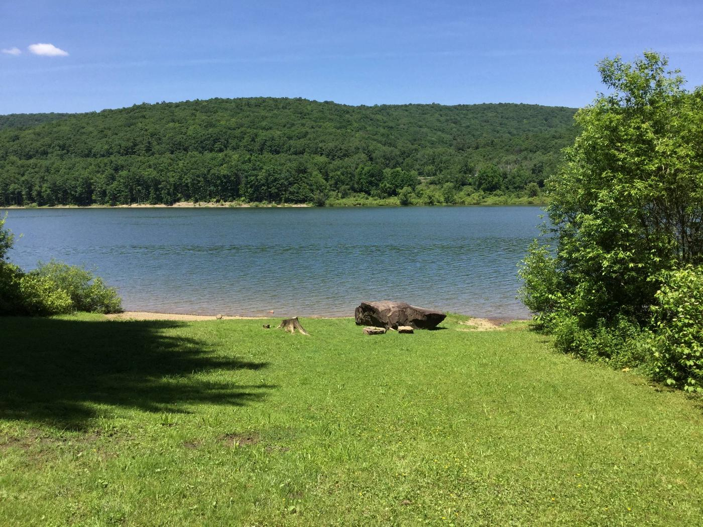 Willow Bay Recreation Area: Picnic Shelter Water View