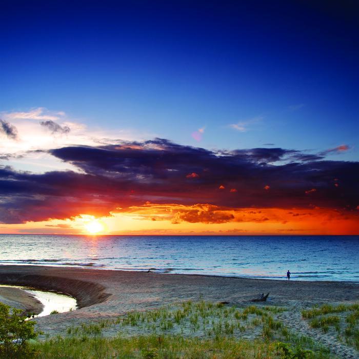 Sunset at Indiana Dunes National LakeshoreSunset at Indiana Dunes National Park