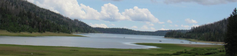 View of Navajo Lake Navajo Lake just outside of the campground