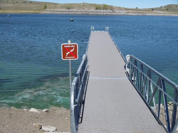 Panguitch Lake DockDock located at Panguitch Lake  on the north shore