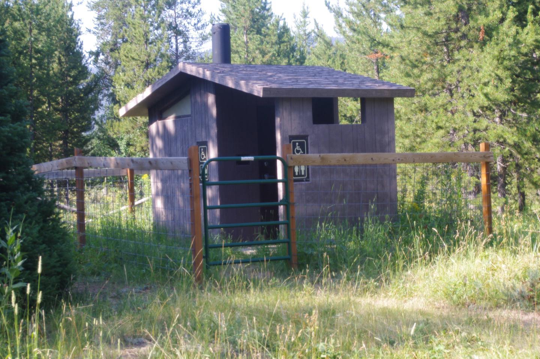 Diamond Creek Guard StationToilet