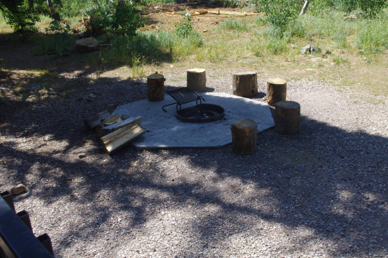 Egan Basin Guard StationFire Pit