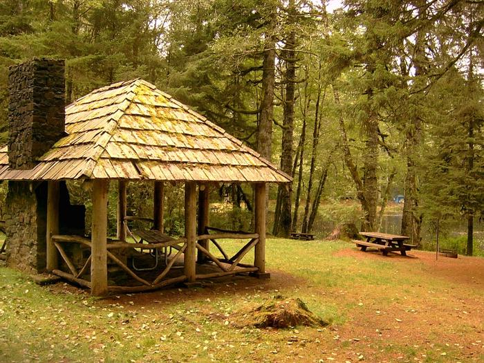 Historic Picnic Shelter built by the CCC