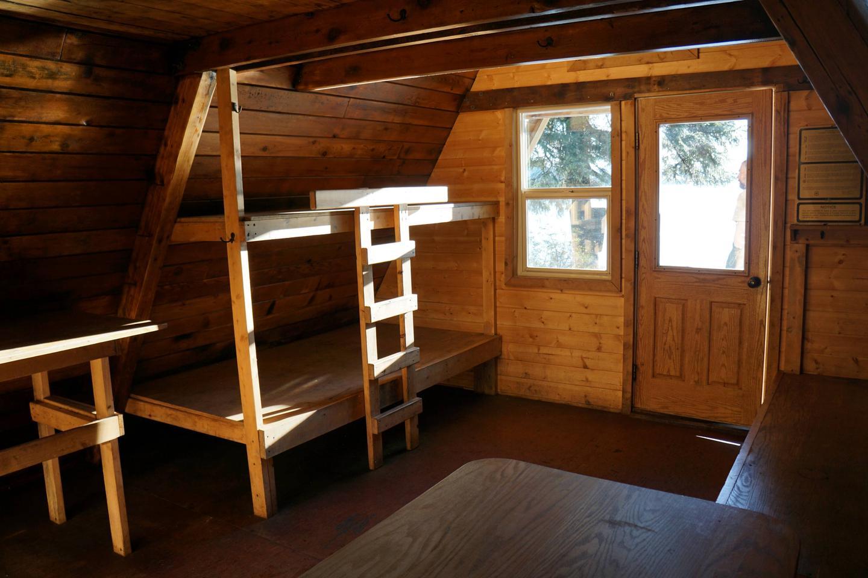 PIGOT BAY CABINPigot Bay Cabin interior