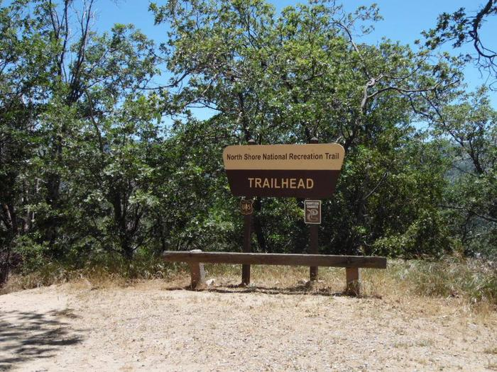 Trail Head at North ShoreTrail Head