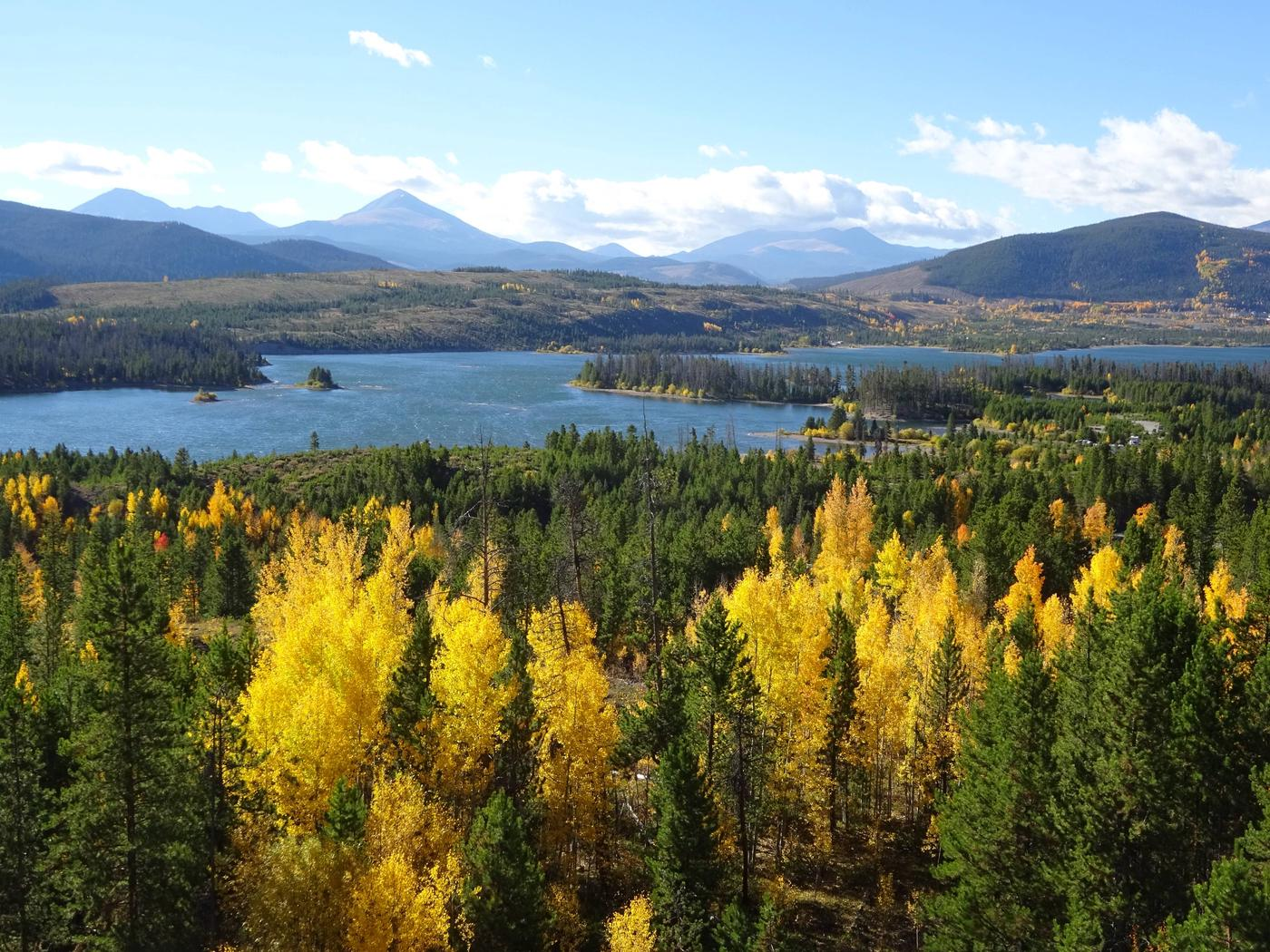 HEATON BAYFall Colors & Dillon Reservoir