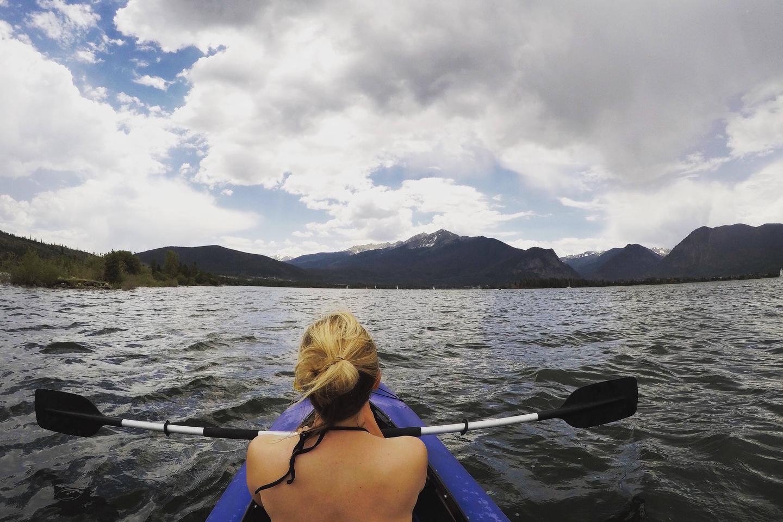 Excellent Kayaking on Dillon Reservoir