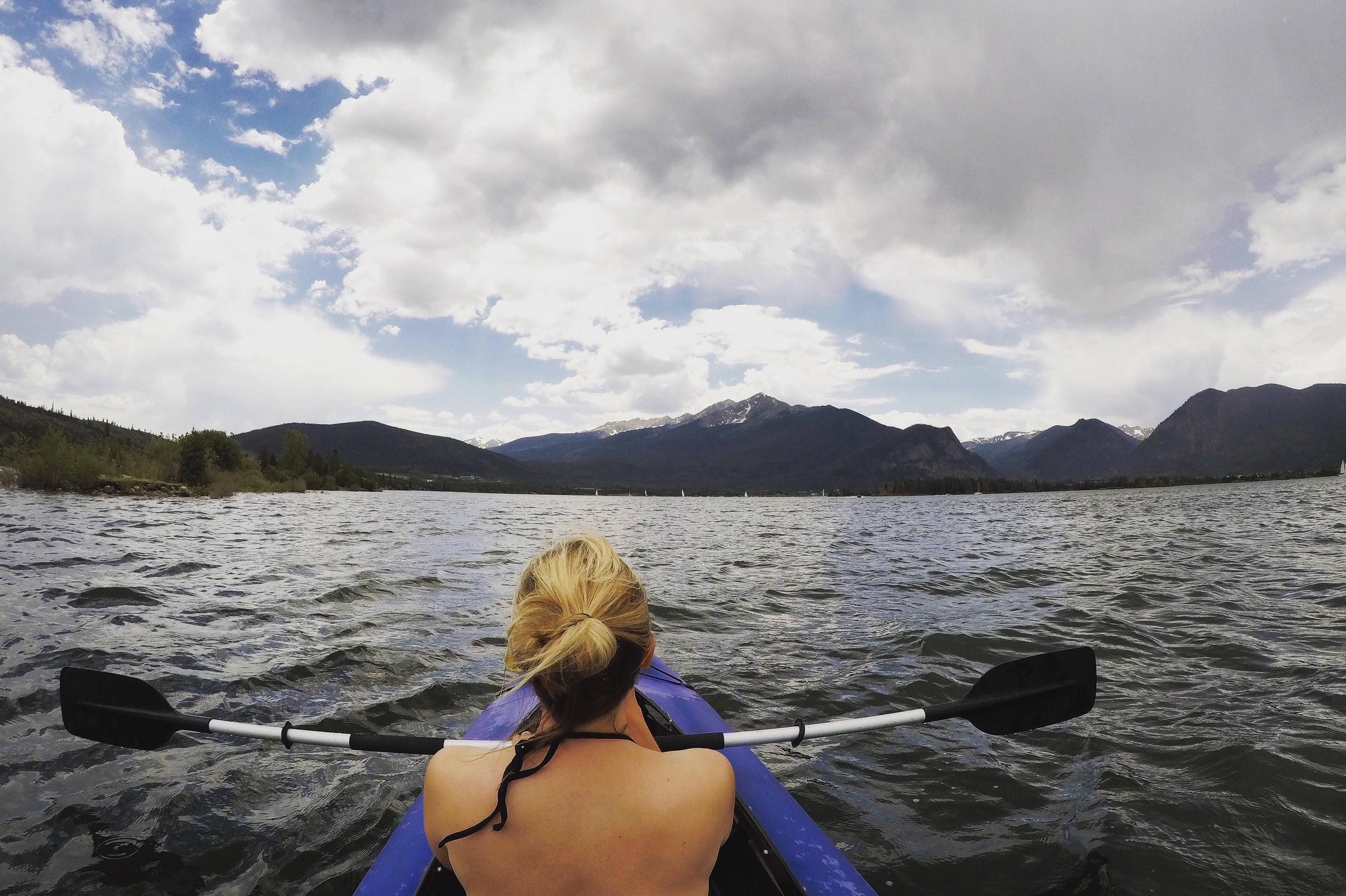 Excellent Kayaking on Dillon Reservoir