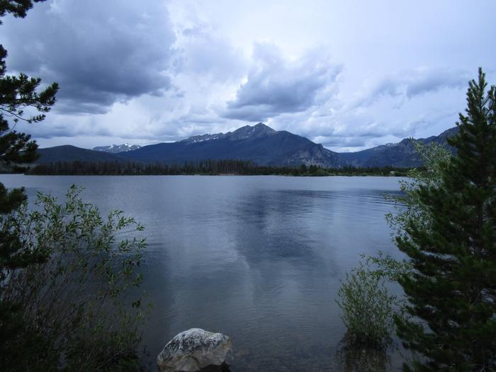 Across Dillon Reservoir