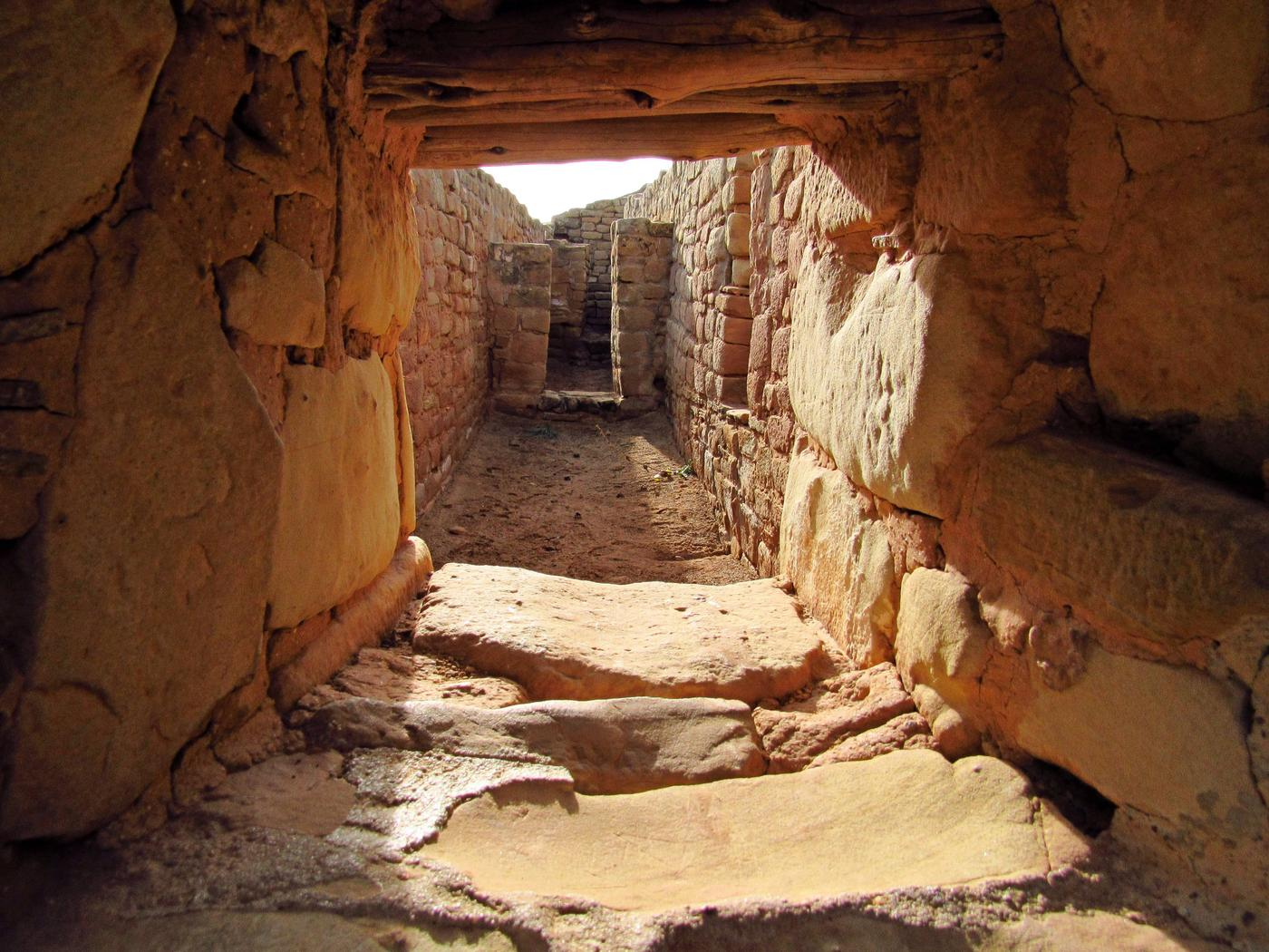 Interior of Ancient Cliff Dwellings