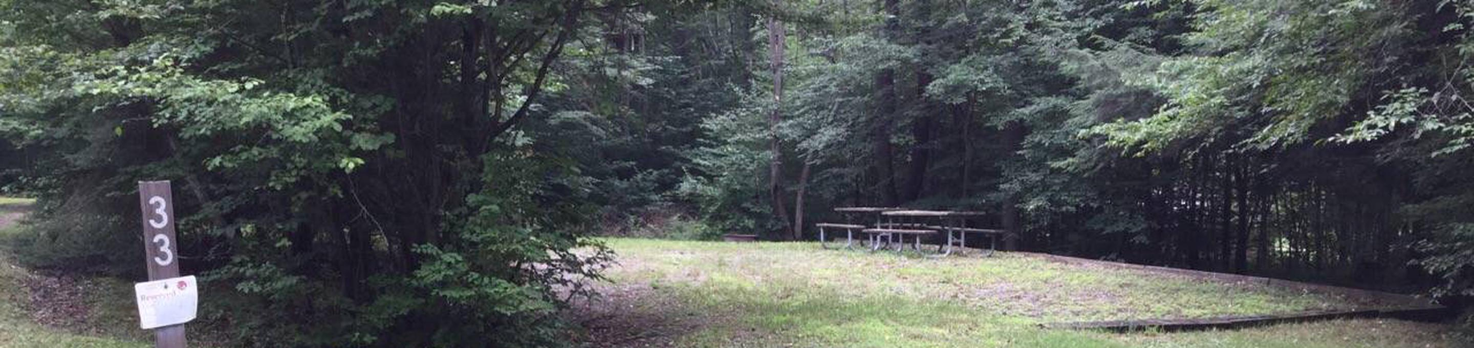 Twin Lakes Recreation Area: Site 33