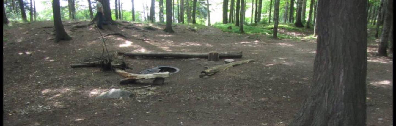 Balsam 2 Campsite photo.Level site, fire ring