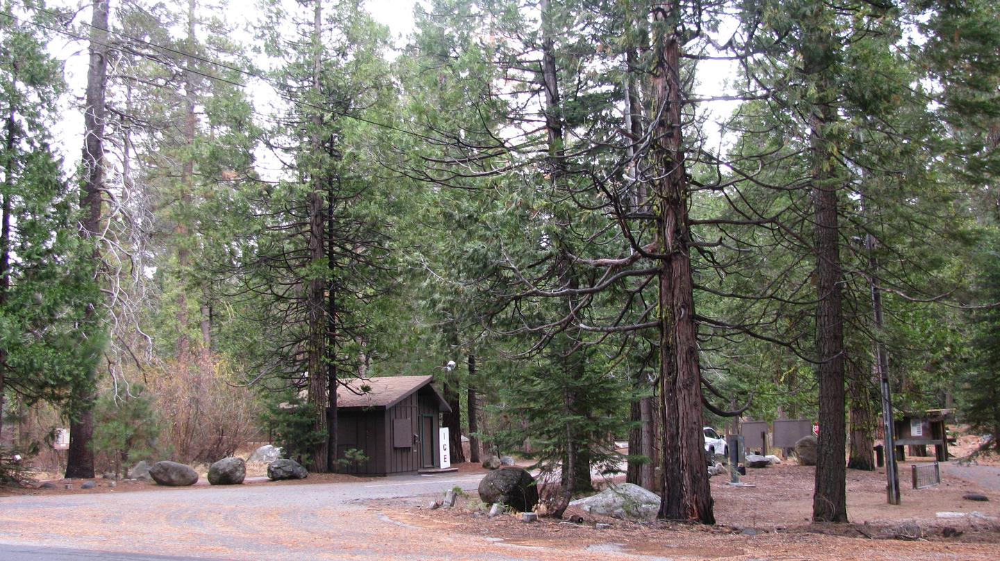 Pinecrest Campground Entrance from Pinecrest Road