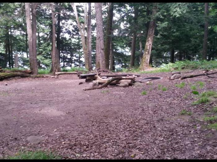 Eagle 2 Campsite photo.This campsite has room available for multiple tents.
