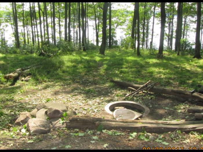 Perch 2 Campsite photo.This is a smaller campsite.
