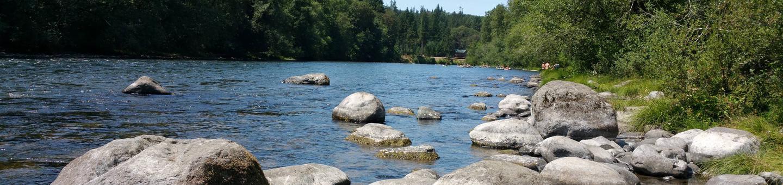North Santiam River at Fishermen's Bend Recreation Site