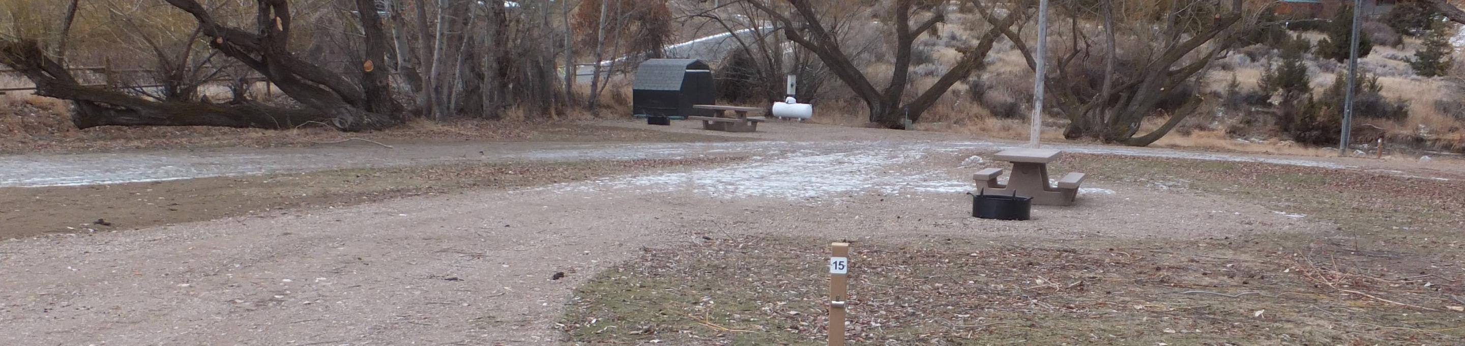Jo Bonner Campground - Site 15