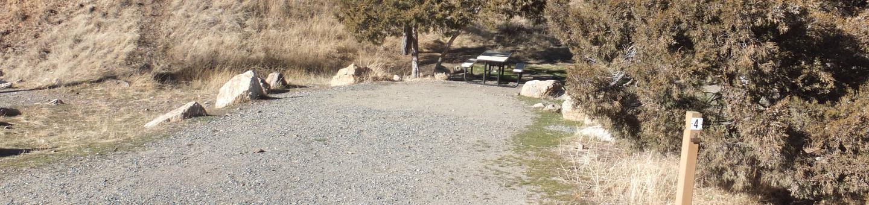 Chinamen's Campground - Campsite 4