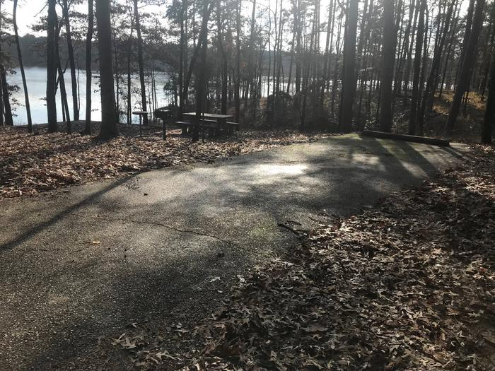 RV pad with water and electric hookupsSite 22