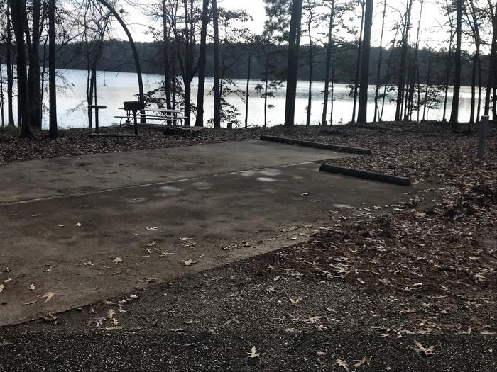 RV pad with water and elecrtic hookupsSite 31