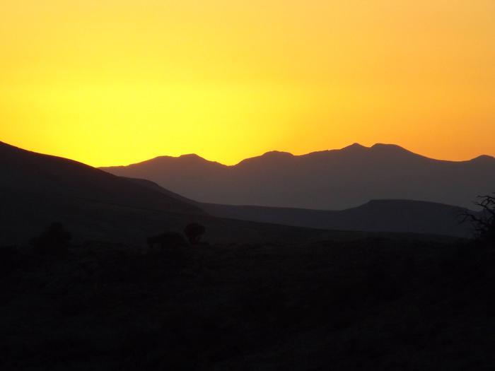 Sunrise Over Curecanti National Recreation Area