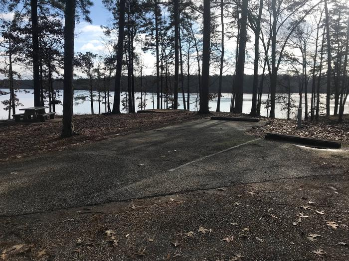RV pad with water and elecrtic hookupsSite 33
