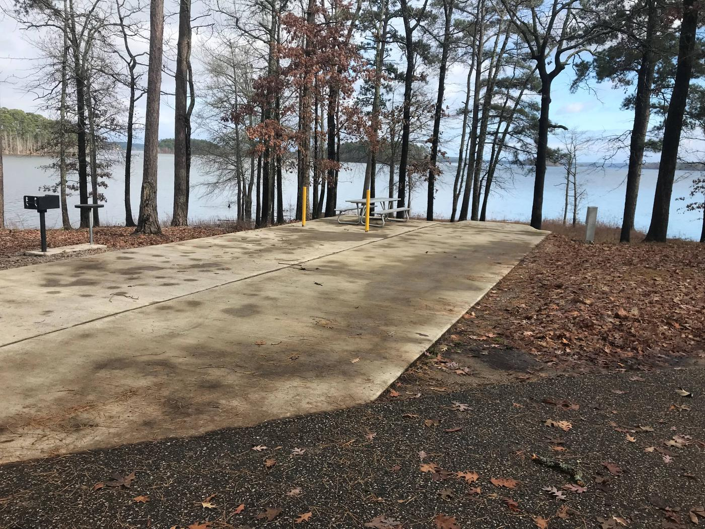 RV pad with water and elecrtic hookupsSite 34