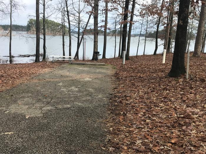 RV pad with water and elecrtic hookupsSite 36